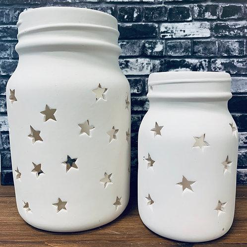 Mason Jar Lantern MEDIUM
