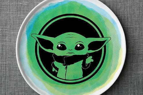 Baby Yoda Plate Kit