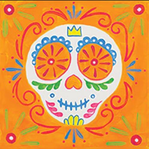 Sugar Skull Canvas