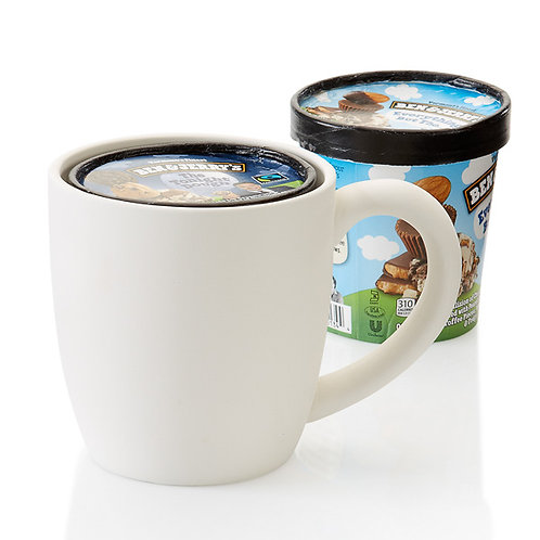 Pint Ice Cream Mug 20oz