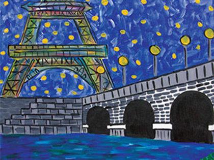Evening in Paris Canvas