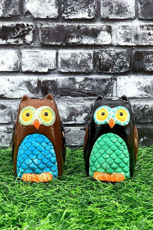 Owl Salt / Pepper Shakers