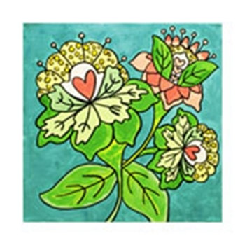 Bright Blooms Canvas