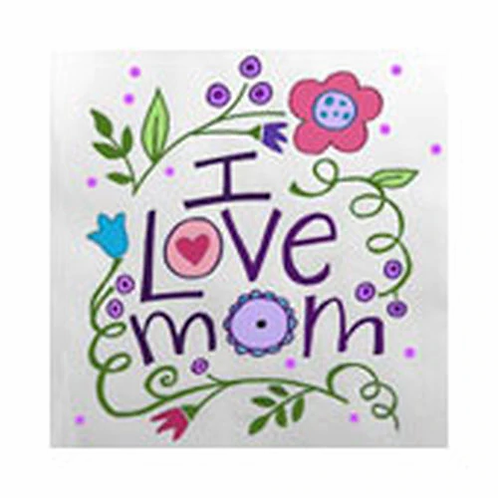 Love Mom Canvas
