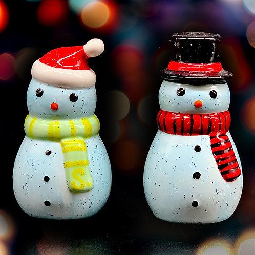 Snowpeople Salt & Pepper Set