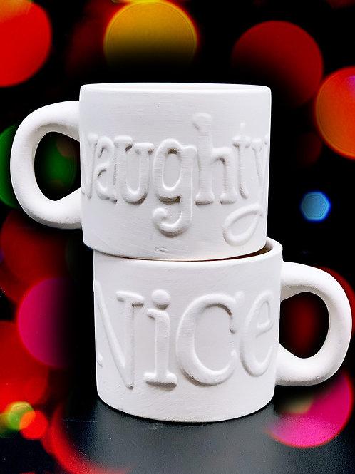 Naughty/Nice Mug