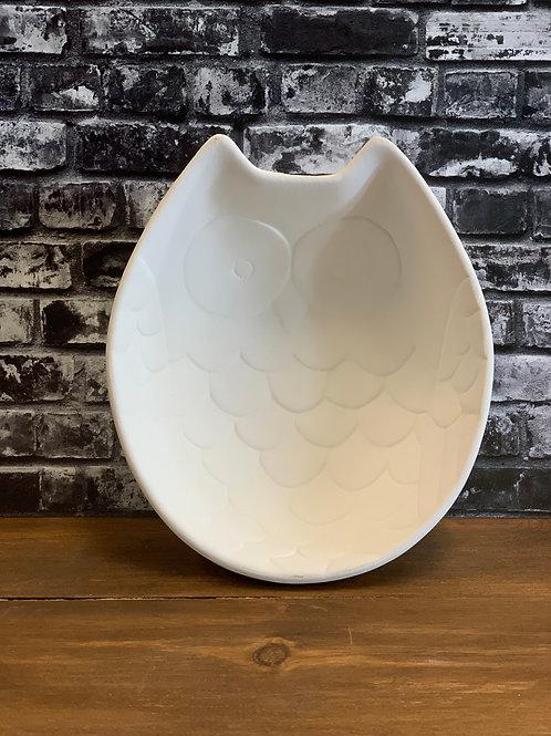 Fluffy Owl Bowl