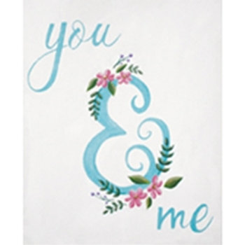 You & Me Canvas