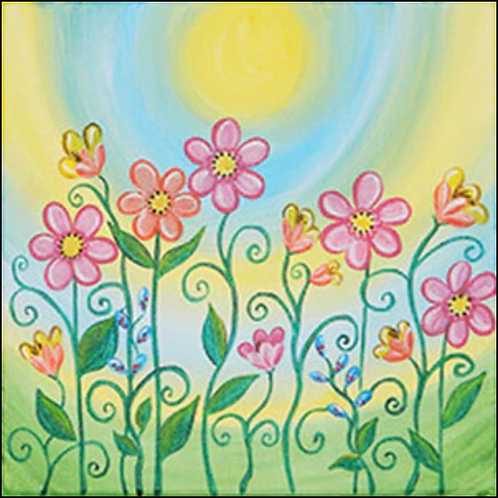 Spring Blooms Canvas