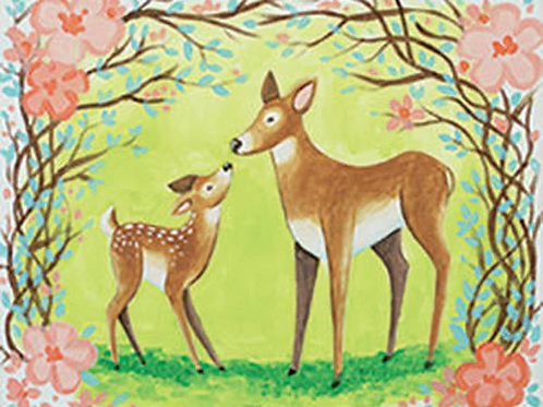 Love You Deer-ly Canvas
