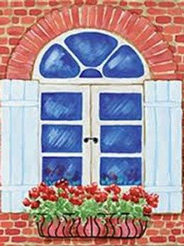 European Window Canvas