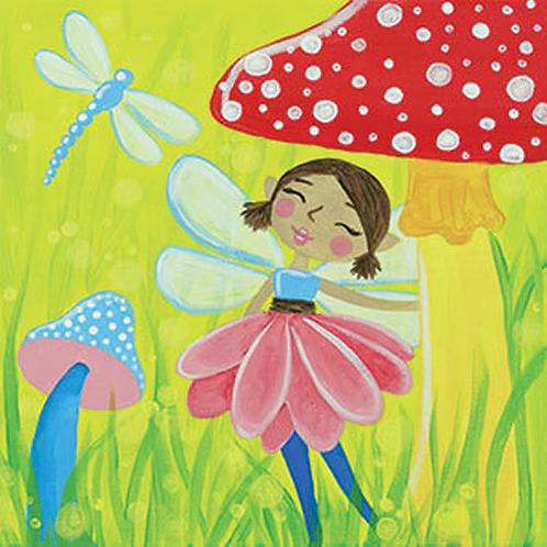Woodland Fairy Canvas