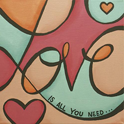 Love Pop Canvas