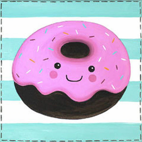 Delicious Donut Canvas