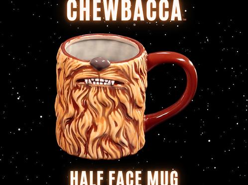 Chewbacca Half Face Mug