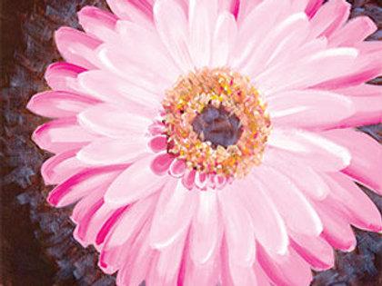 Pink Gerbera Daisy Canvas