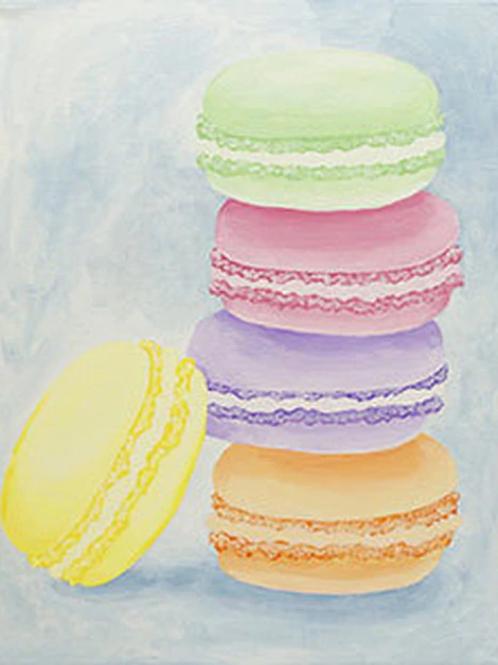 Macarons Canvas