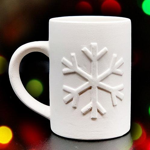 Frozen Snowflake Mug