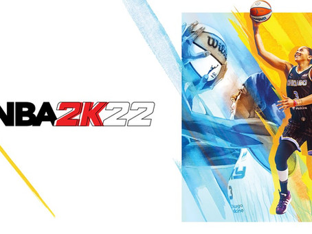 A giant move forward as Candace Parker named NBA 2K22 cover athlete