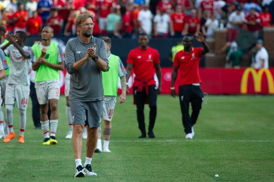 Jürgen Klopp drops expletive on live television following comeback against Barcelona