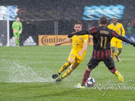 The Rain Game: Atlanta United vs. Columbus Crew SC