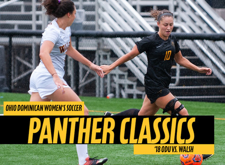 VIDEO I Panther Classics - Ep.1 Ohio Dominican vs. Walsh