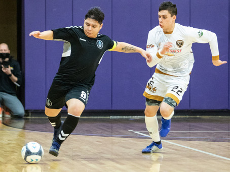 Columbus Futsal Top of the East after battle against Akron