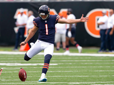 Despite missing field goal, Cody Parkey keeps things in perspective