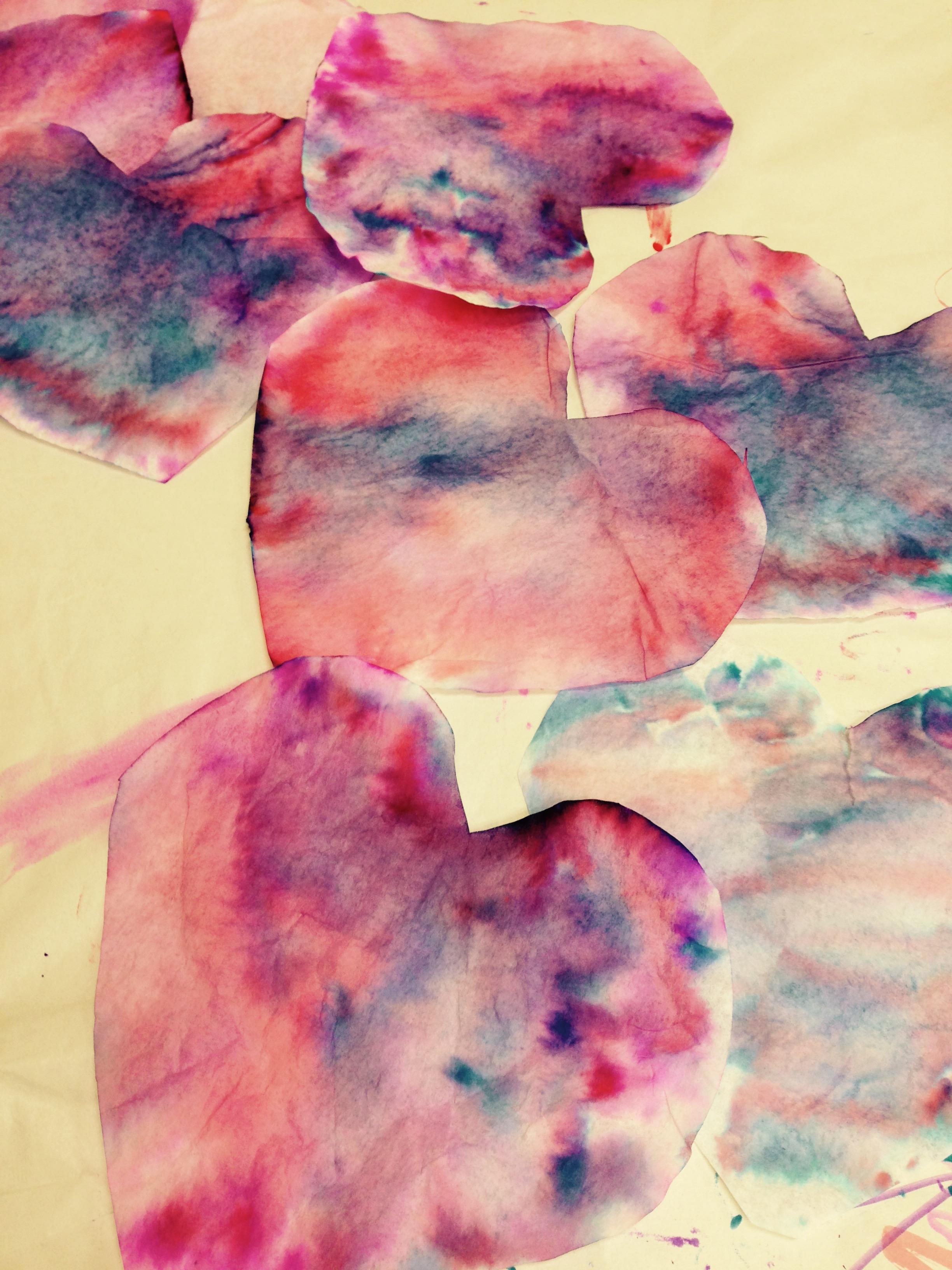 marker hearts
