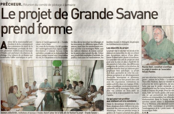 Grande Savane, un musée à ciel ouvert