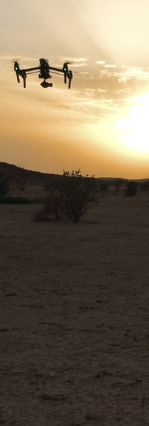 Sunset in the Sahel