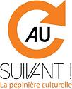 logo, Au Suivant, pépinière culturelle, 37, Tours, La Riche, comédie musicale, solidarité, partage, entraide, crowdfunding, financement participatif, dons, intérêt général, association, médiation culturelle