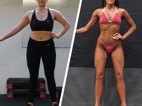 Imogen Anker's body transformation in 16 weeks
