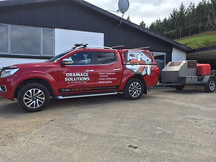 Drainage Solutions & Design Ltd truck