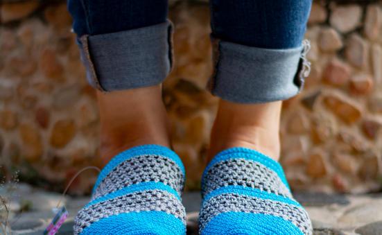 Sueco dama tejida en crochet ST16