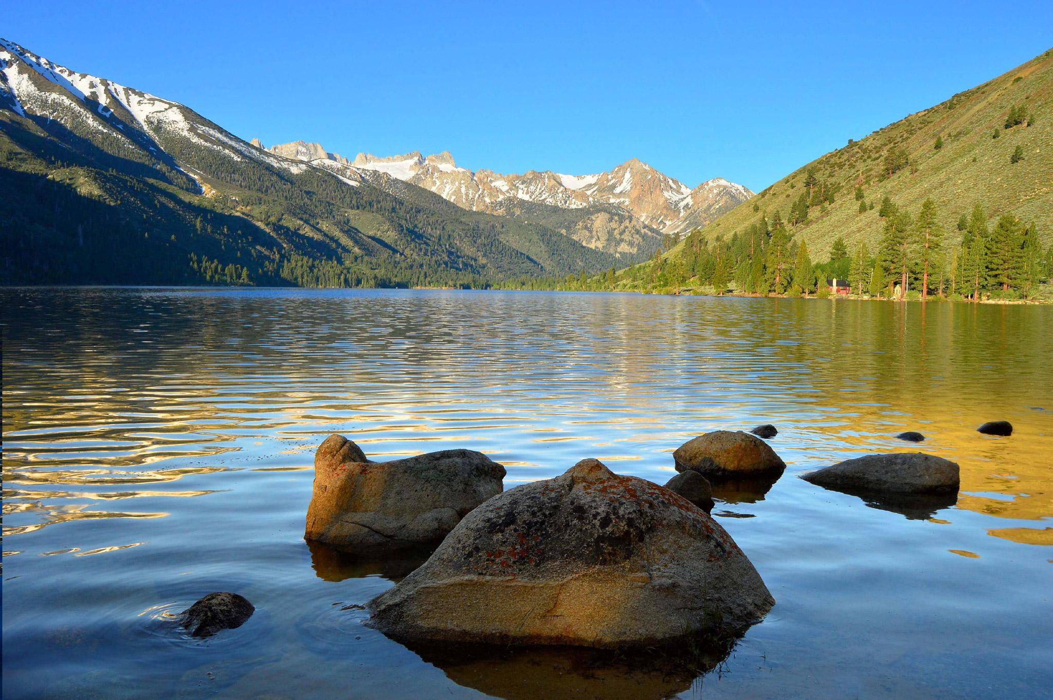 Morning on Lower Twin Lake