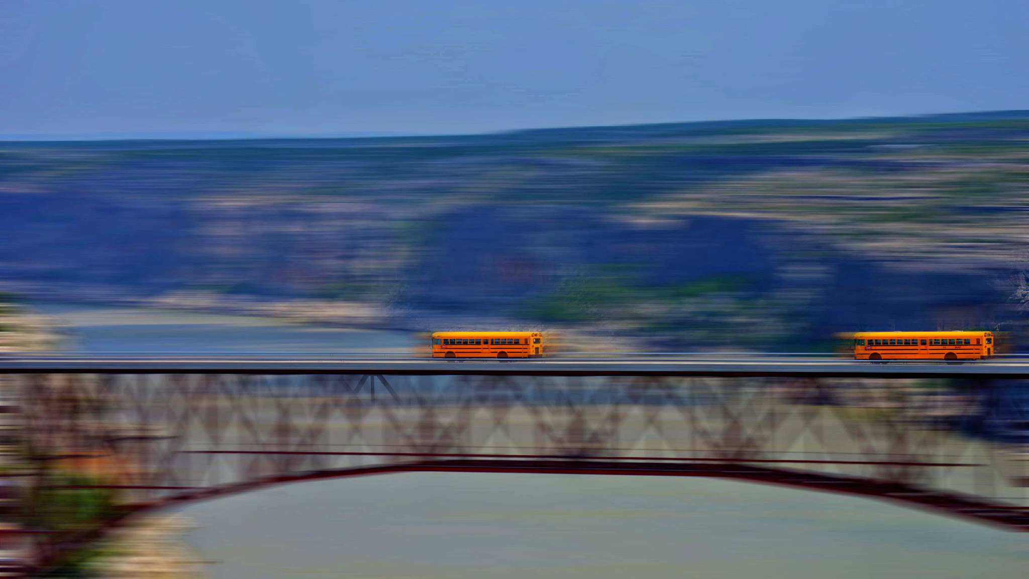 Busses Over The Pecos