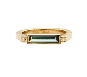 Empire Indigo Ring
