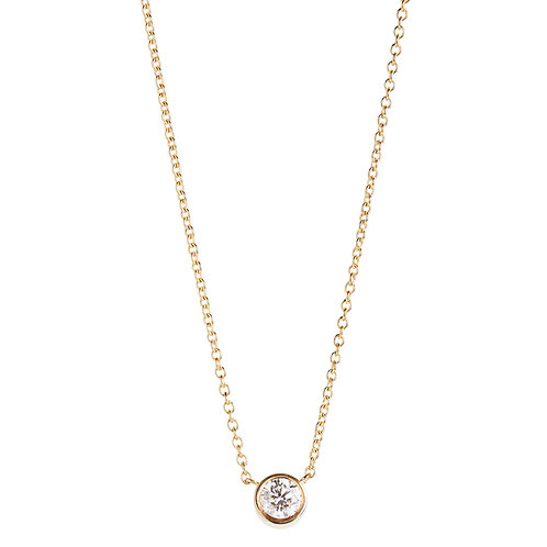 0.25 ct diamant halskæde