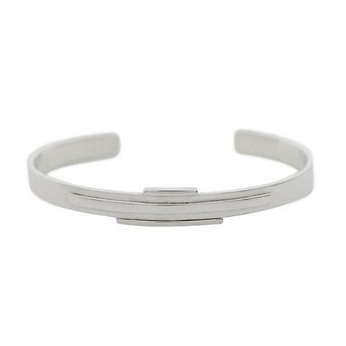 silver cuff bracelet, bangle