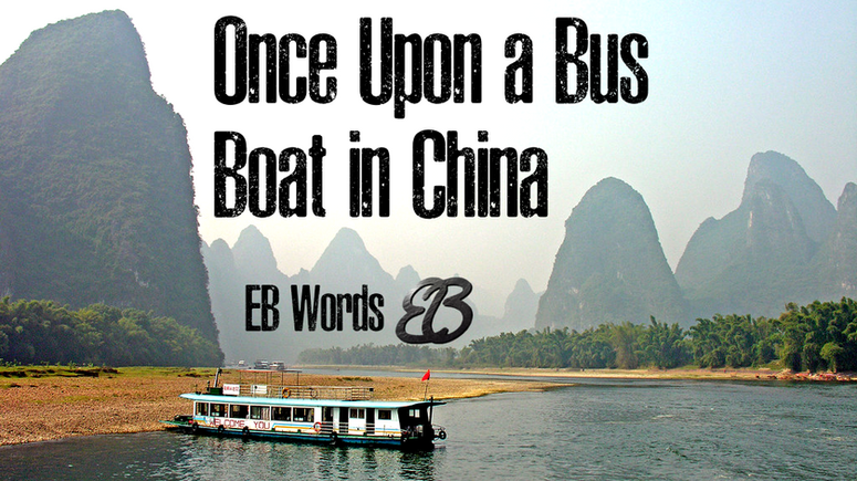 Once Upon a Bus Boat in Guangxi: Why I'm Still the Observer