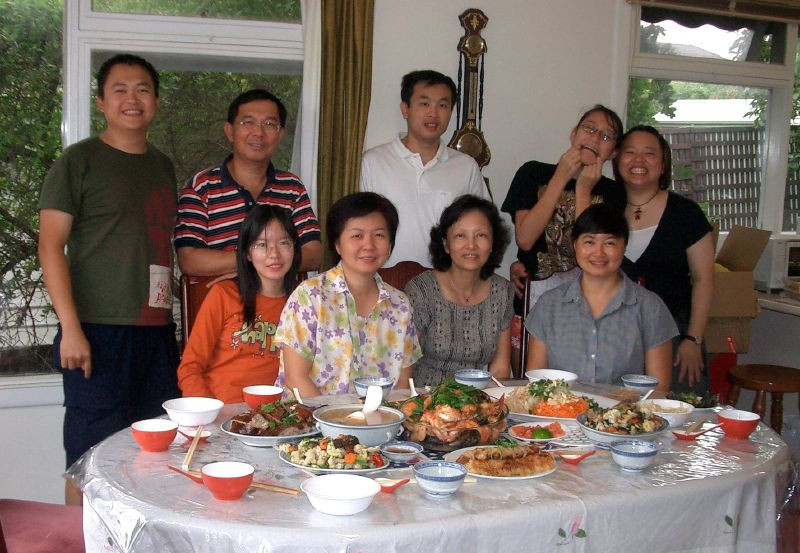 Family Reunion - A Vision of a Happy Chinese Family