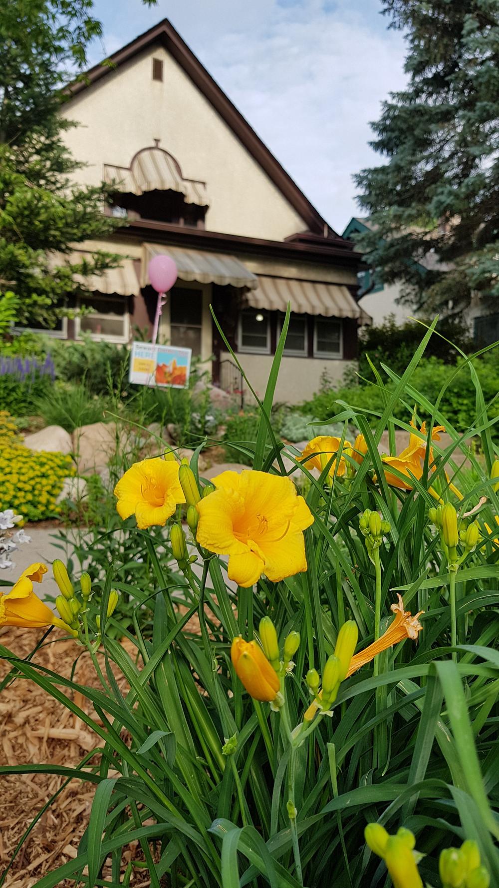 Seward Garden Tour - Copyright EB Words
