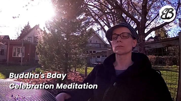 Buddha BDay Celebration Meditation