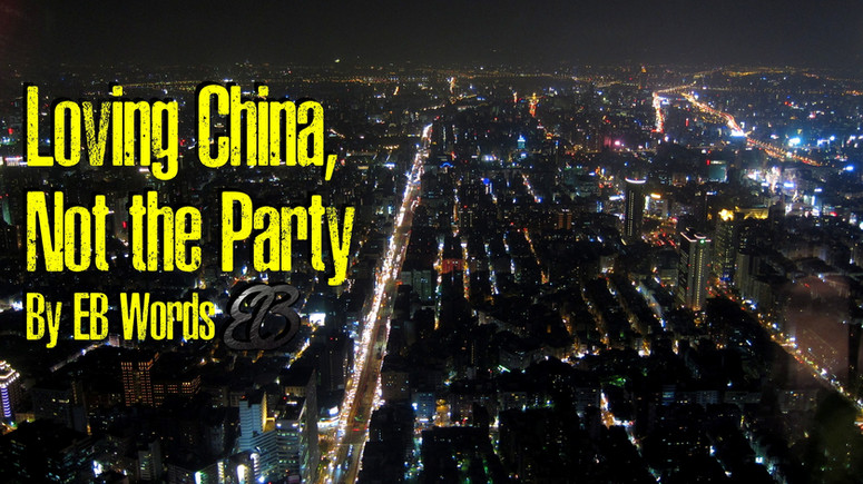 Loving China, But not the Party