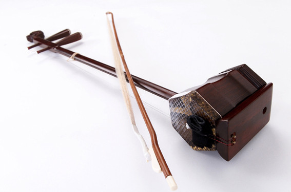 Erhu - Traditional Chinese 2 Stringed Instrument