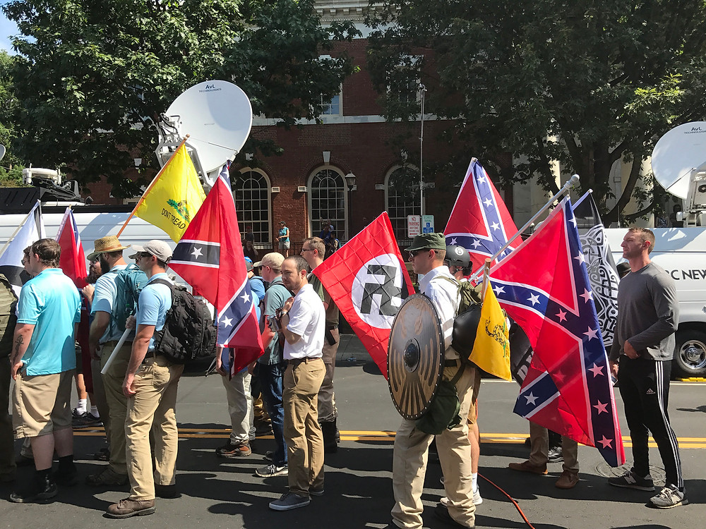Alt Right Protest in Charlottesville