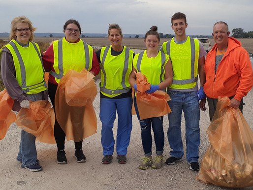 Roadside Cleanup by Knights