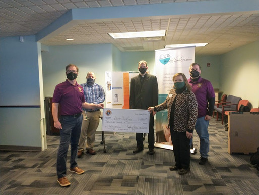 Council presents final check for ultrasound