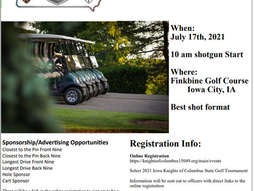 Still Time to Sign up for Golf!